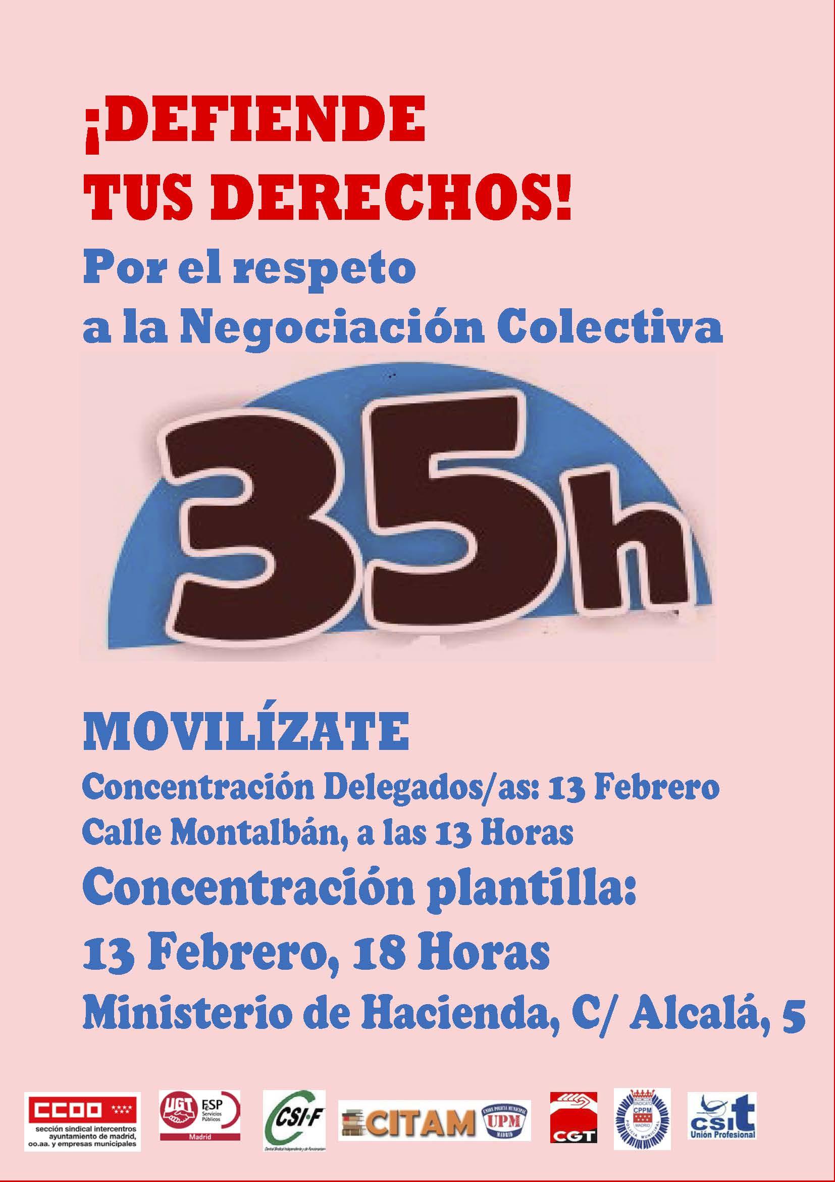 Cartel Concentracion Todos 35H