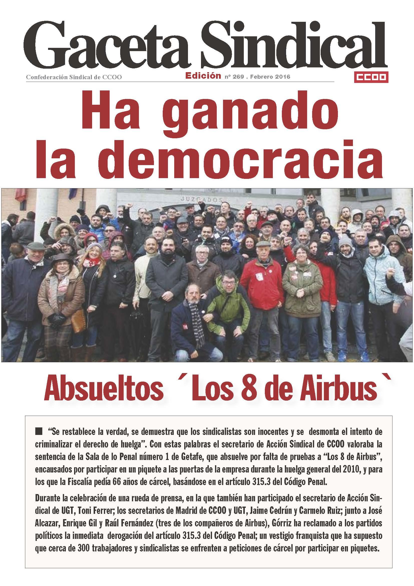 Portada Gaceta Airbus