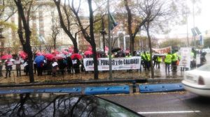 Mujeres manifestacion